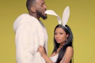 "Nicki Minaj's ""Pills N Potions"" Video: Watch Her Hang With Game & Take Out Her Boobs"