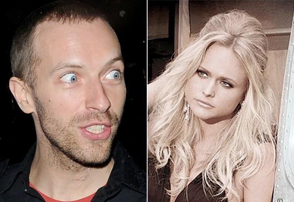 Coldplay Miranda Lambert