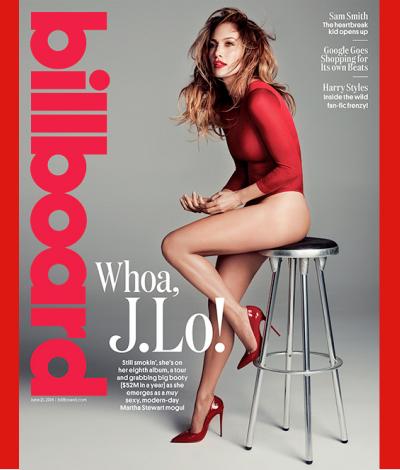 Jennifer Lopez JLo Billboard cover June 2014