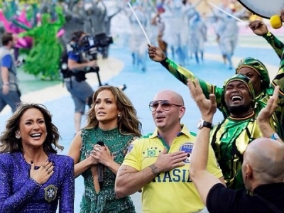 Pitbull's Pants Steal The Show At World Cup Opening Ceremony: Morning Mix
