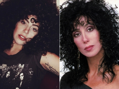 Lady Gaga Has Started Dressing Like Cher Circa 1987: 8 Big-Haired Pics