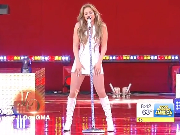 """Jennifer Lopez Brings """"Booty"""", """"First Love"""" & """"On The Floor"""" To 'GMA': Watch Her Epic Performances"""