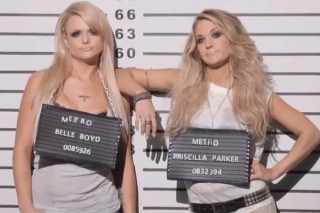 "Miranda Lambert And Carrie Underwood Tease Their Role-Reversing ""Somethin' Bad"" Video: Watch"