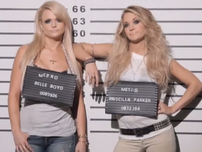 "Miranda Lambert And Carrie Underwood Tease Their Role-Reversing ""Somethin' Bad"" Video: Watch"