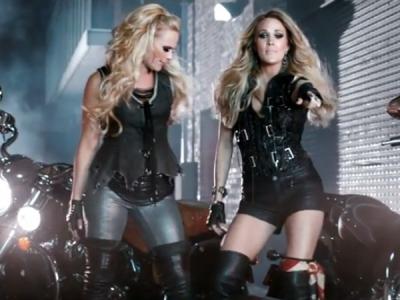 "Miranda Lambert And Carrie Underwood Run Wild In Their Epic ""Somethin' Bad"" Video: Watch"