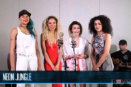 "Neon Jungle Perform ""Trouble"" And Hozier's ""Take Me To Church"": Idolator Sessions"