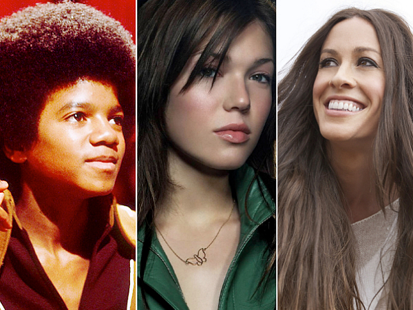 Michael Jackson Mandy Moore Alanis Morissette Star Spangled Banner National Anthem