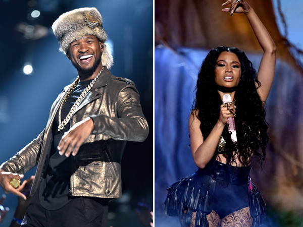 Usher & Nicki Came To Give It To You