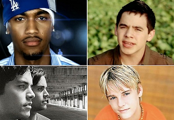 Flop Pop Dudes Idolator David Archuleta Aaron Carter Houston Evan Jaron main