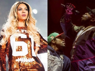 Beyonce Shouts Out To OutKast At Atlanta 'On The Run' Concert: Watch