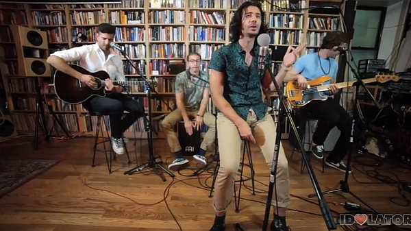 "MAGIC! Perform ""No Evil"" Live & Acoustic (For The First Time): Idolator Sessions"