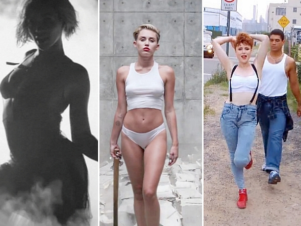 MTV Video music awards 2014 kiesza miley cyrus beyonce