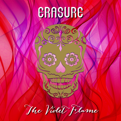 Erasure The Violet Flame album cover artwork 2014
