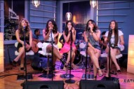 "Fifth Harmony Perform New Song ""We Know"" Live And Acoustic: Idolator Sessions"