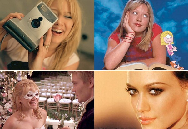 Hilary Duff Idolator greatest things Lizzie mcguire dignity so yesterday a cinderella story