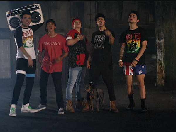 Janoskians This Fuckin Freakin Song music video