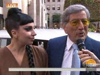 Lady Gaga And Tony Bennett Stop By The 'TODAY' Show For A 'Cheek To Cheek' Chat: Watch