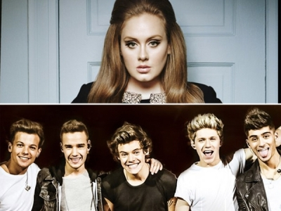British Artists, Including One Direction And Adele, Accounted For One Of Out Every Eight Albums Sold In 2013