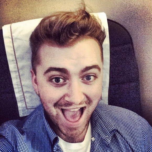 Sam Smith's Stubble Filled