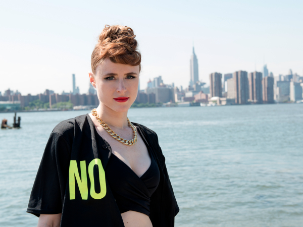 Kiesza photo water New York