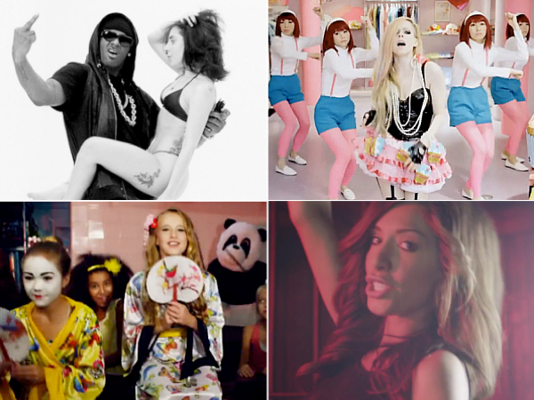 Idolator 2014 Video Floppys Lady Gaga Do What U Want Avril Lavigne Hello Kitty Alison Gold Chinese Food Farrah Abraham Blowin