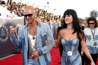 MTV VMAs 2014: Katy Perry And Riff Raff Pay Tribute To Justin And Britney