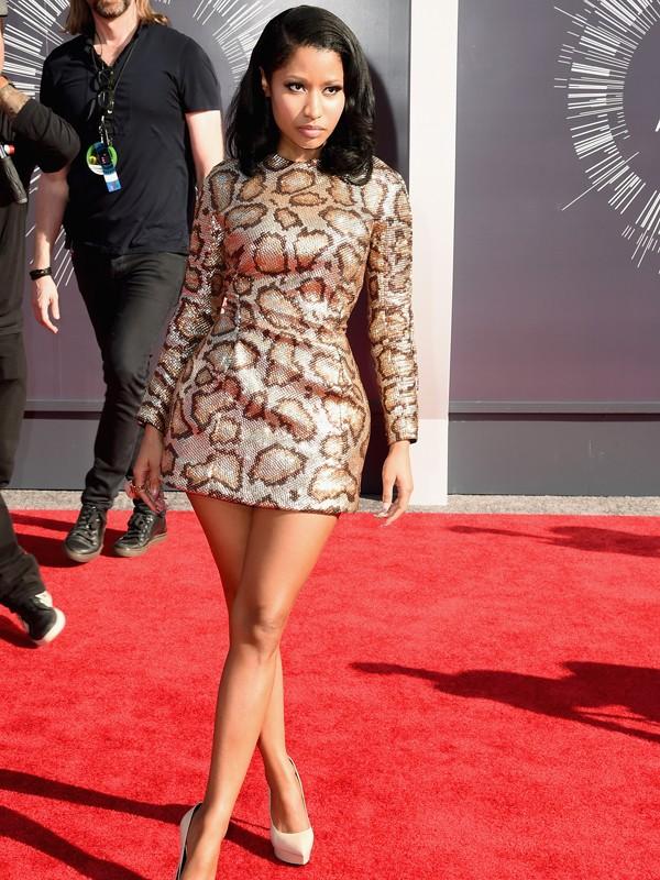 MTV VMAs 2014: Nicki Minaj Stuns In A Leopard-Print Dress ...Nicki Minaj In Leopard Print