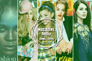 Magazine Melee: Which Pop Princess Has The Best September 2014 Cover?