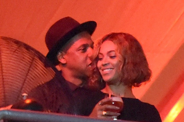 Beyonce Jay Z At Made In America Festival