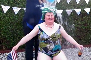 In Case You Missed It: Susan Boyle Also Did The Ice Bucket Challenge
