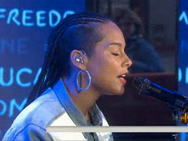 Alicia Keys We Are Here Today Show performance