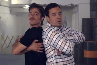 Watch Brad Pitt & Jimmy Fallon's Breakdance Conversation