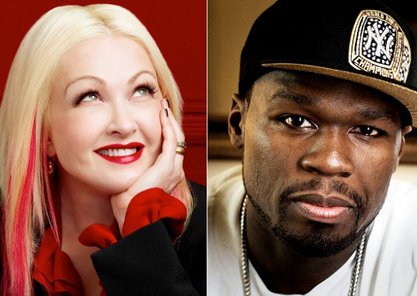Cyndi Lauper 50 Cent