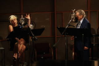 "Lady Gaga And Tony Bennett Sing In The Studio For ""But Beautiful"" Video: Watch"