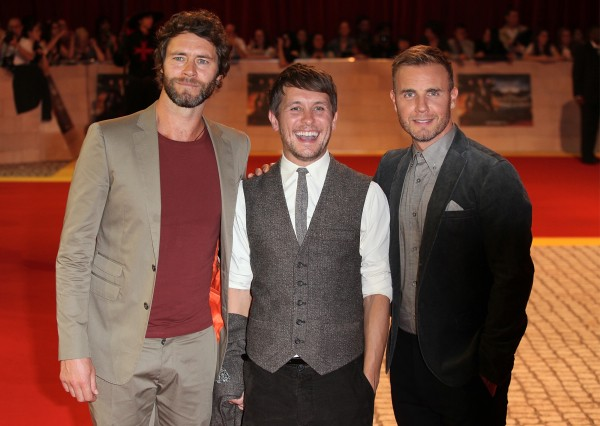 Take That Gary Barlow Howard Donald Mark Owen