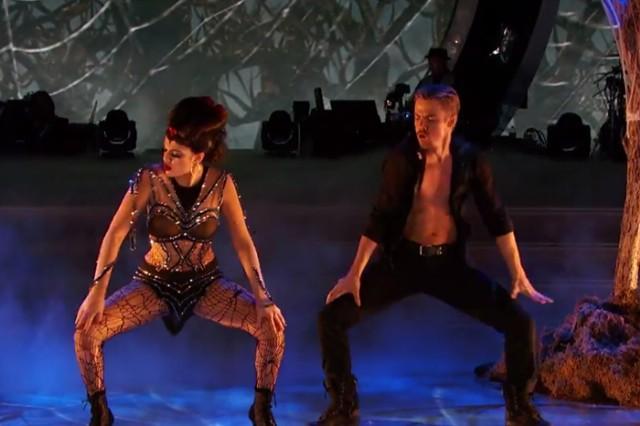 "Iggy Azalea And Rita Ora's ""Black Widow"" Soundtracks The Halloween Episode Of 'Dancing With The Stars': Watch"