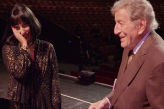"Lady Gaga and Tony Bennett Rehearse ""Bewitched, Bothered And Bewildered"" At The Cirque Royal: Watch"