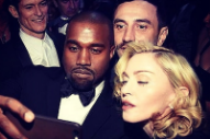 Madonna Took The Ultimate Shameless Selfie With Kanye West
