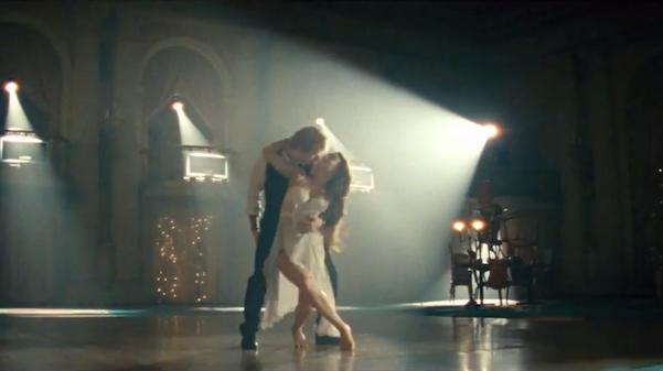 ed sheeran ballroom dances in  u201cthinking out loud u201d video  watch