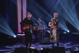 """Pink And Dallas Green (You + Me) Perform """"You And Me"""" On 'Jimmy Kimmel Live': Watch"""