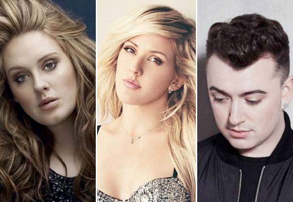 Adele Ellie Goulding Sam Smith