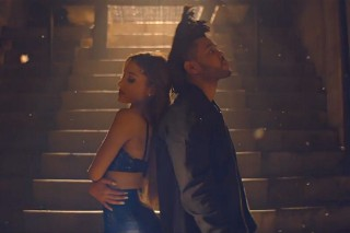 "Ariana Grande And The Weeknd's ""Love Me Harder"" Video: Watch Them Pose In The Simple Clip"