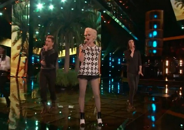 Gwen Stefani The Voice 2014 Blondie The Tide Is High