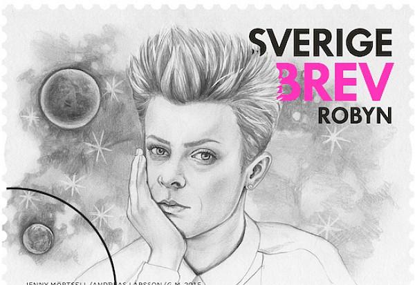 Robyn Sweden Swedish postage stamp Postnord