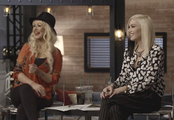 The Voice Gwen Stefani Christina Aguilera 2014