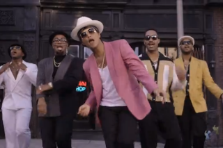 "Mark Ronson & Bruno Mars Are Totally Suave In Their ""Uptown Funk"" Video: Watch"