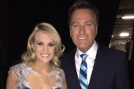"Carrie Underwood Joins Michael W. Smith To Perform ""All Is Well"" At 'CMA Country Christmas': Watch"