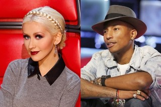 Is Christina Aguilera Working With Pharrell On New Music?
