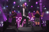 "Cobra Starship & Icona Pop Perform ""Never Been In Love"" On 'Jimmy Kimmel Live': Watch"