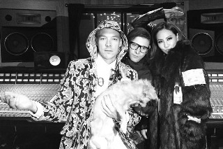 2NE1's CL Hits The Studio With Diplo, Skrillex And RoccStar